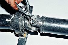 Ремонт карданного вала, замена подшипников