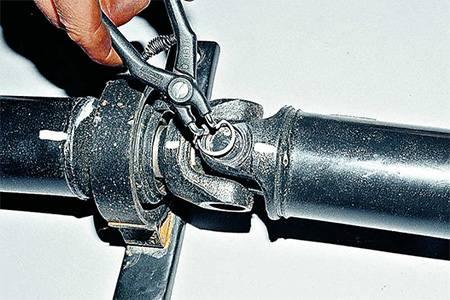 Ремонт карданного вала, замена подшипников и ступиц